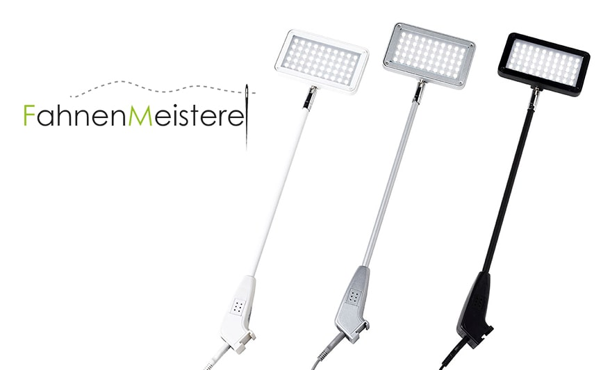 ZIPPER-Wall LED-Strahler Beleuchtung Für Aufsteller