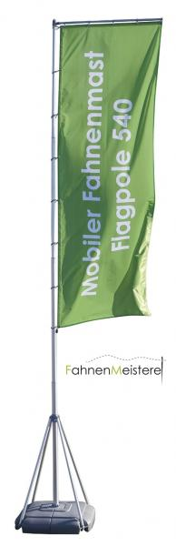 Mobil Flagpole